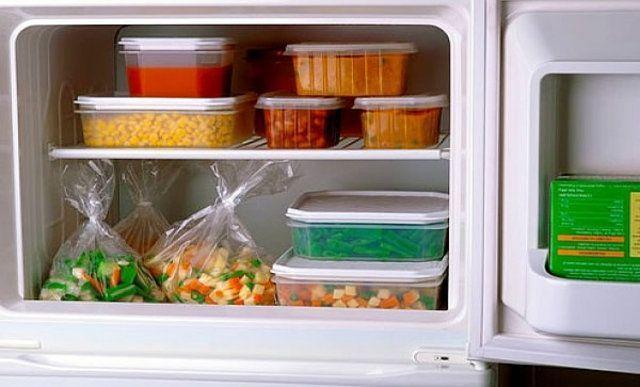 Dicas para congelar alimentos