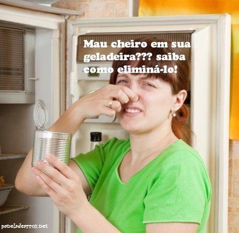 Como livrar sua geladeira do mau cheiro