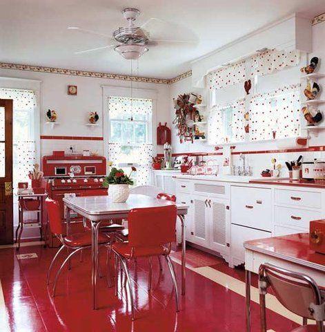 Decoração de cozinha retrô e colorida: orientações de como ter a sua