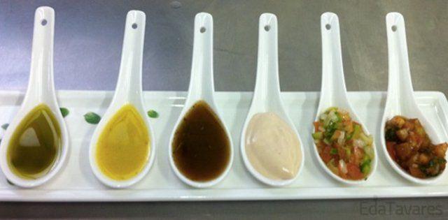 Molhos para saladas – alternativas interessantes