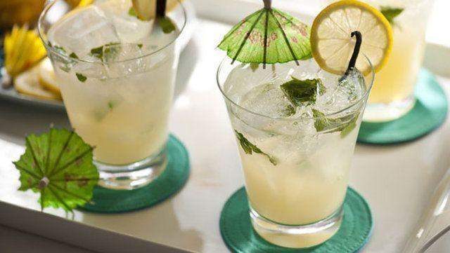 Drinques refrescantes para o verão