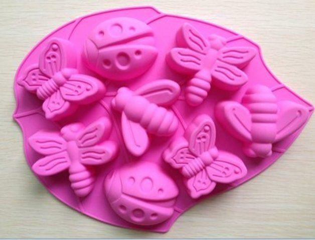 Formas de silicone para bolos