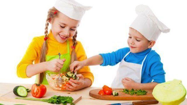 Como cozinhar para crianças