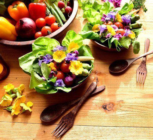 Dicas para escolher flores comestíveis