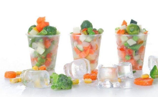 Formas para congelar alimentos