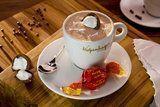 Versões diferentes de chocolate quente