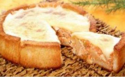 Torta de Pão com Frango