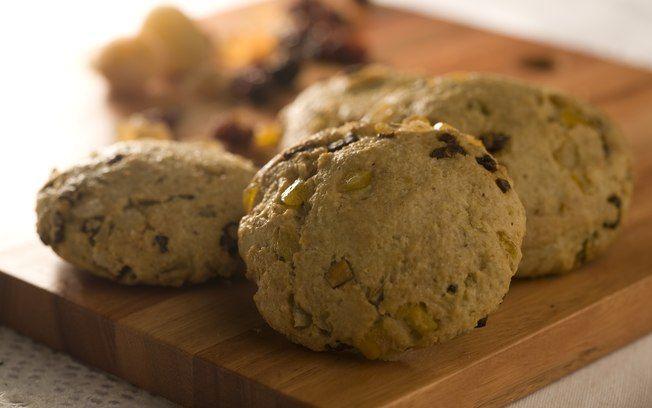 Cookie de aveia e banana-passa light