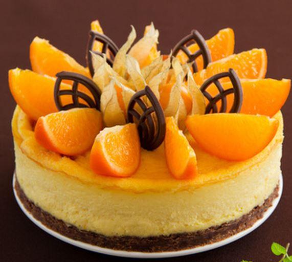 Torta de Chocolate e laranja