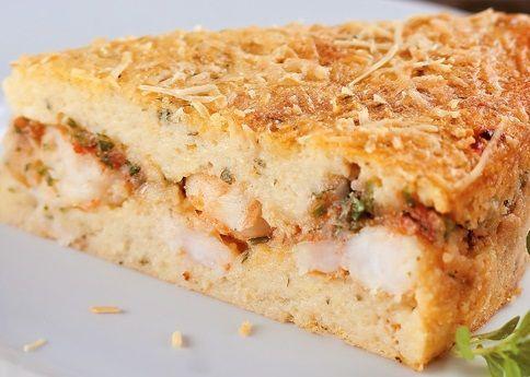 Torta Batata e Camarão