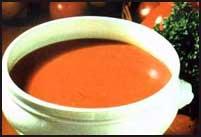 Sopa de feijão forte