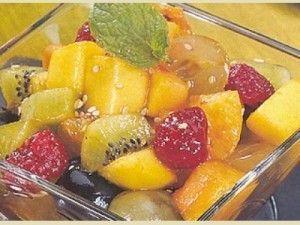 Salada Exótica de frutas