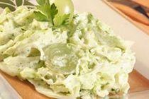 Salada Verde no Microondas