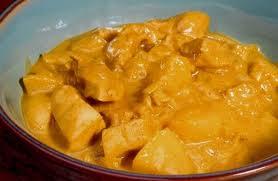 Frango indiano ao Curry