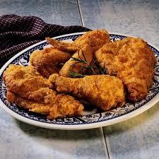 Coxas de frango empanada