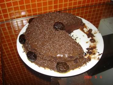 Bolo delícia de chocolate