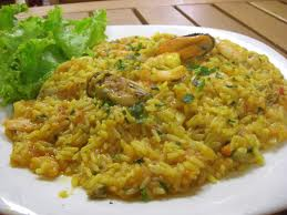 Arroz com frutos do mar