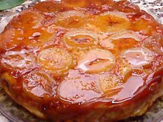Tarte de figo caramelizado e mel de castanha