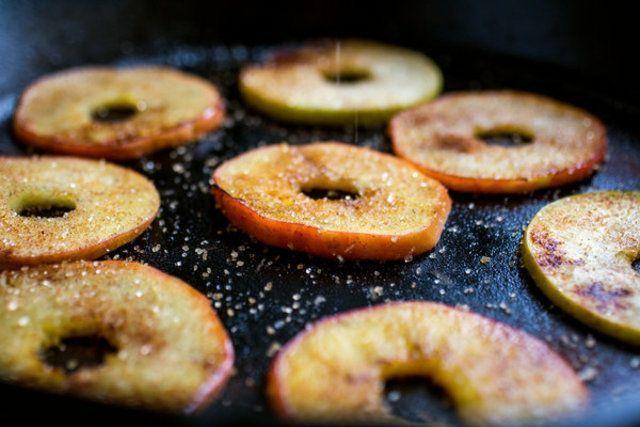 Anéis de maçã