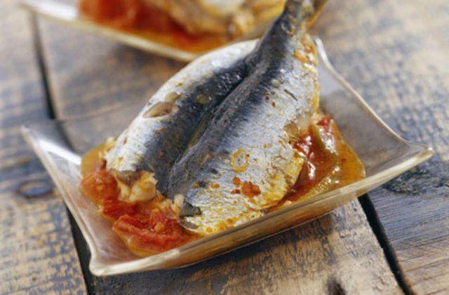 sardinhas com tomate