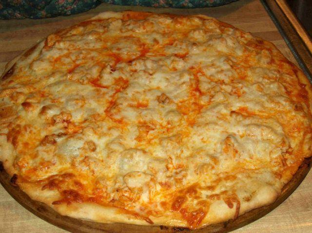 Massa de pizza da Beth