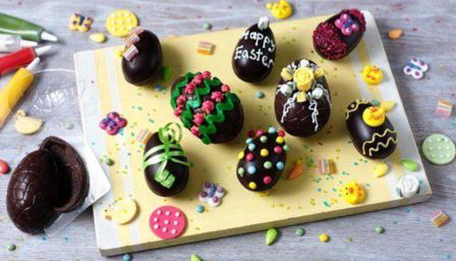 Chocolate caseiro para ovos de Páscoa