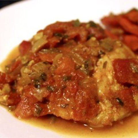 Bacalhau cozido com especiarias