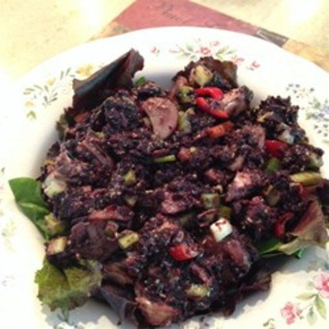 Salada chinesa de arroz
