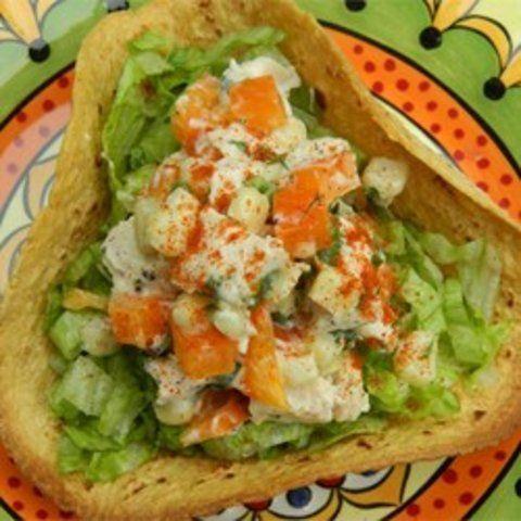 Salada de frango do sudoeste