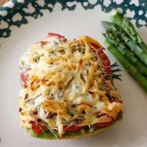 O melhor sanduíche vegetariano