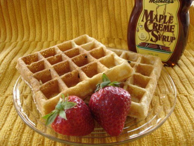 Massa básica de Waffles