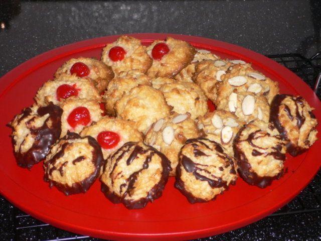 Biscoitinhos doces de coco