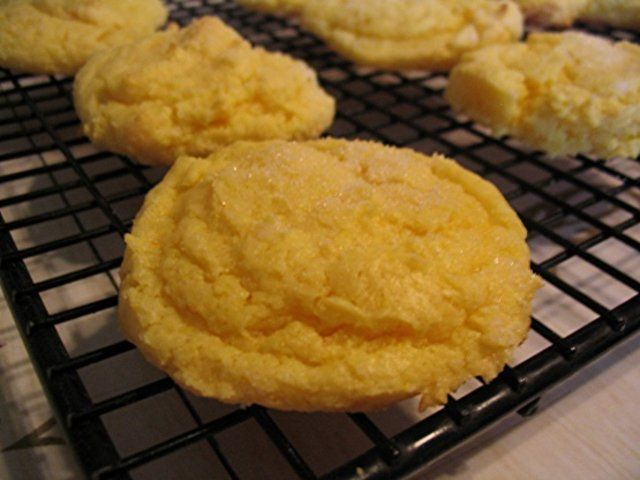 Cookies de limão e cream cheese