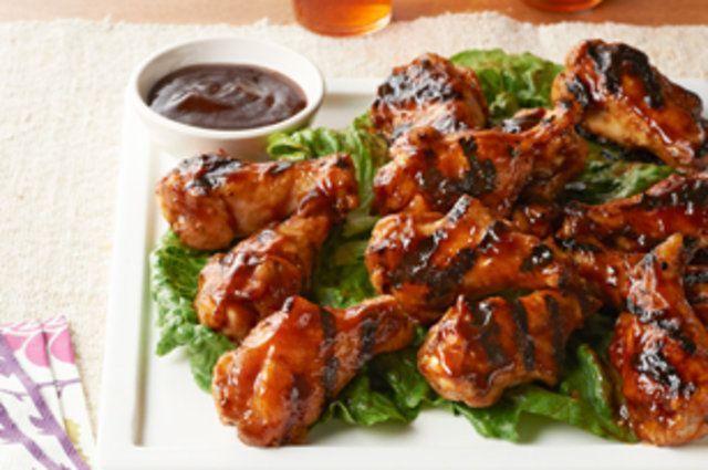 Churrasco de frango asiático