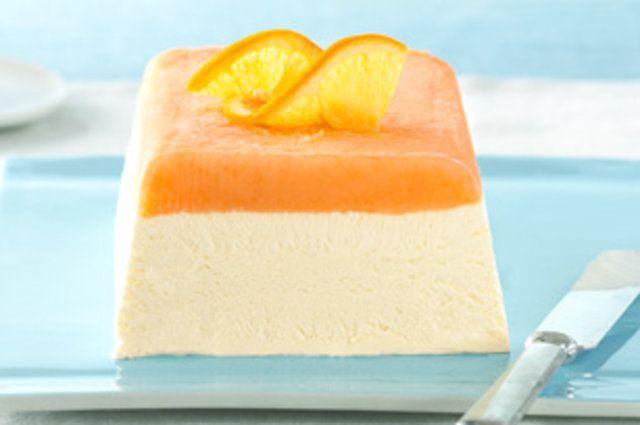 Creme de laranja gelado
