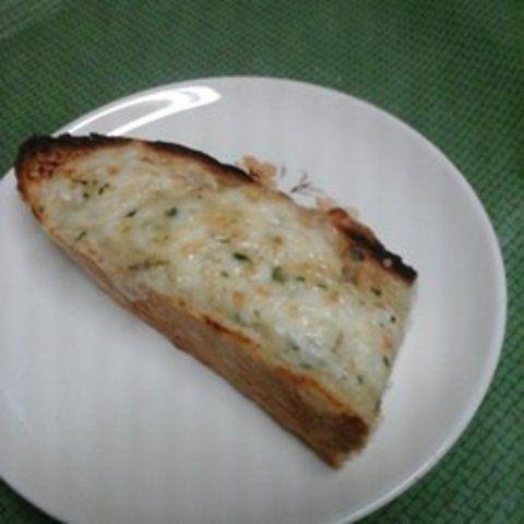Pão francês com 3 queijos