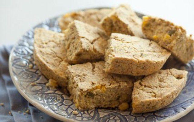 Torta de milho com pimenta sem glúten