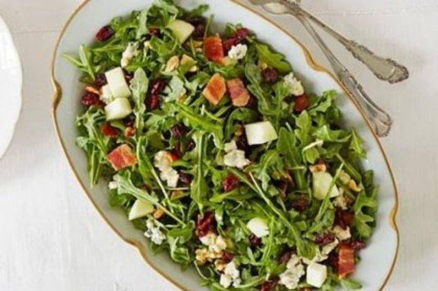 Salada fácil e rústica de natal