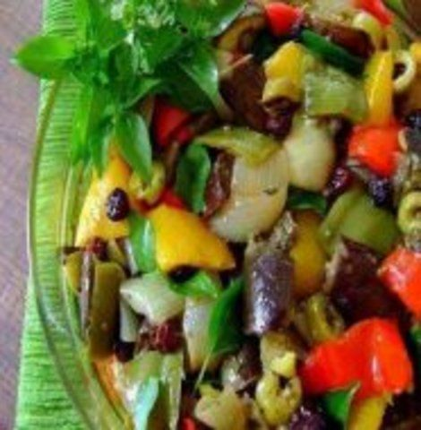 Salada Divina de Berinjela