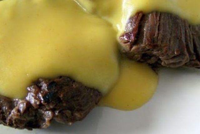 Carne Assada ao Molho Mostarda