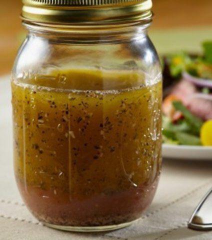 Molho de ervas secas para salada
