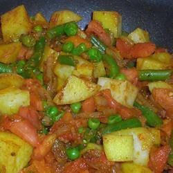 Masala rápido de legumes