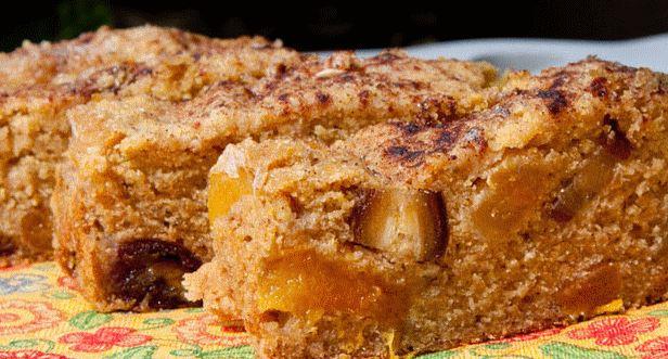 Torta de Maçã com Quinoa