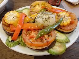 Parrillada de legumes