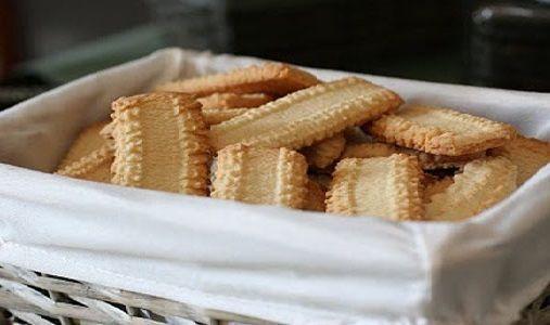Biscoitos de Manteiga para Lanche