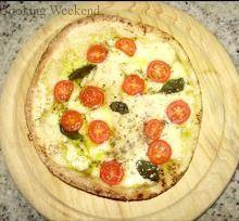 Pizza de Atum no Pão Sírio
