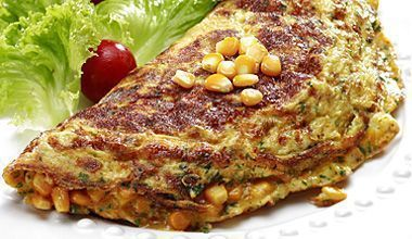 Omelete caipira