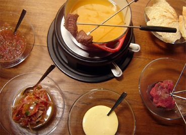 Fondue do Aji