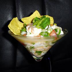 Receita de Ceviche mexicano do Javi