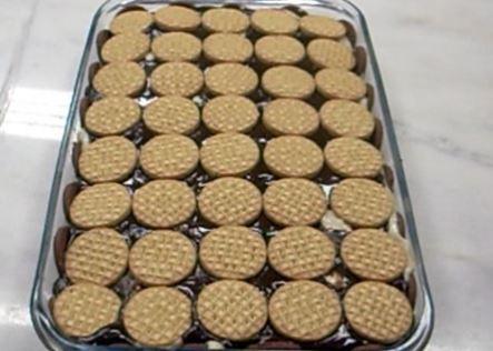 Torta de Biscoitos